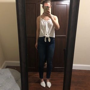 Tops - Off white tank size XS